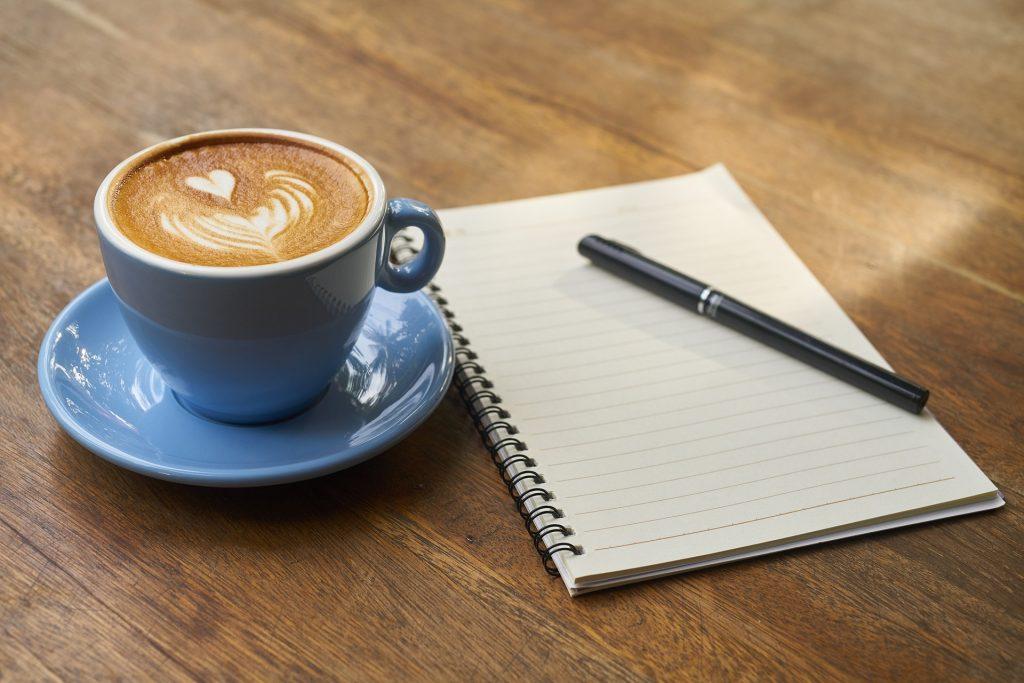 carnet-notes-café